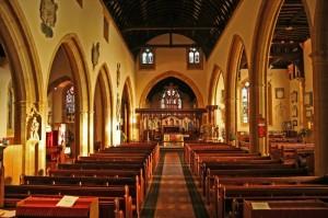 All Saints Church Inside