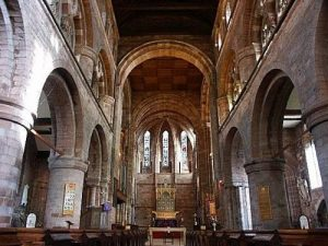 Shrewsbury Abbey Interior